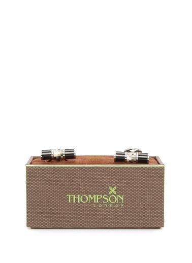 Thompson Kol Düğmesi Siyah